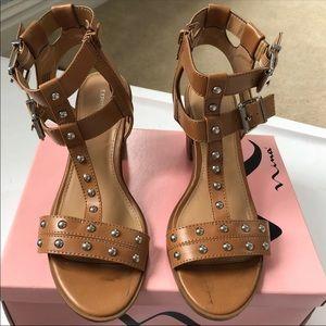 Express Studded Heeled Sandals 8